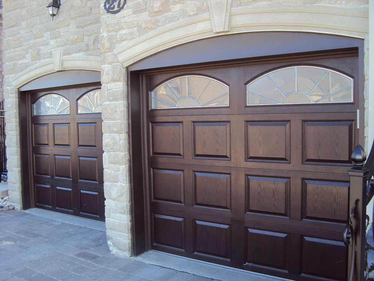 Fibergl Woodgrain Cariage Hous Garage Doors All Quality